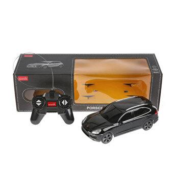 Masina cu telecomanda Porsche Cayenne Turbo, negru, scara 1 la 24