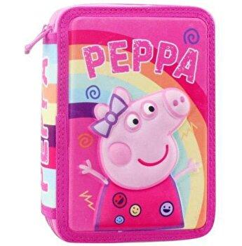 Penar echipat cu 2 compartimente si imprimeu 3D Peppa Pig