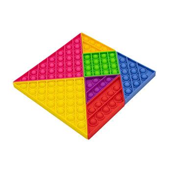 Jucarie antistres, BGTB, din silicon Pop It Puzzle