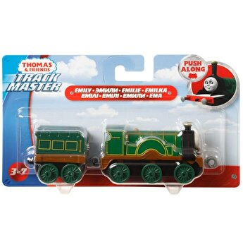 Thomas - Locomotiva cu vagon push along Emily