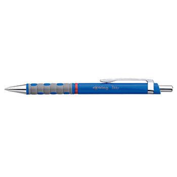 Pix cu mecanism, Rotring, Tikky III, 0.8 mm, albastru, mina albastra