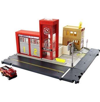 Set de joaca Matchbox - Statia de pompieri