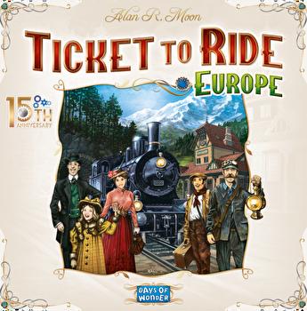 Joc Ticket to Ride - Editie aniversara 15 ani