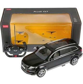 Masina cu telecomanda Audi Q7 negru scara 1:14