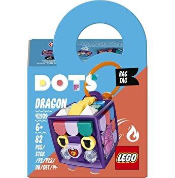 LEGO DOTS - Breloc pentru rucsac Dragon 41939