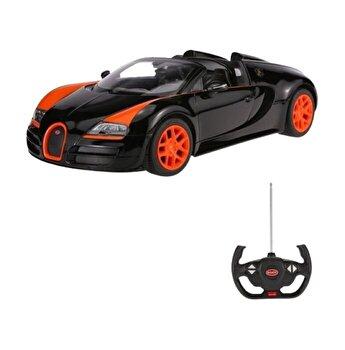 Masina cu telecomanda Bugatti Grand Sport Vitesse, negru, scara 1 la 14