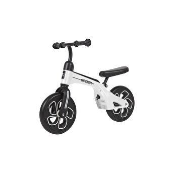 Bicicleta de tranzitie, Spider, fara pedale, roti mari, White