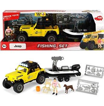 Set de joaca Dickie Toys - Aventura la pescuit
