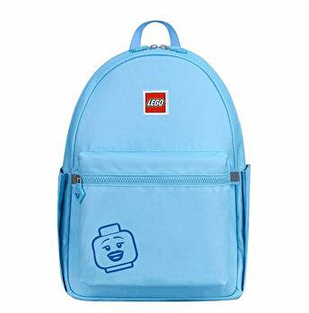 Rucsac Casual LEGO Tribini Joy Large - design Emoji, albastru pastel