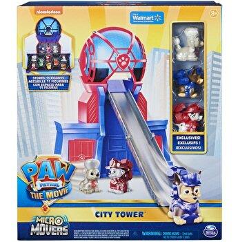 Patrula Catelusilor, Turnul de control cu micro figurine
