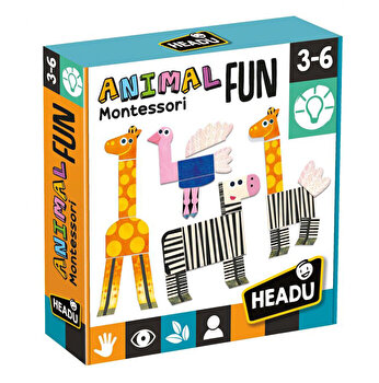 Montessori Headu - Animalute Tactile Amuzante