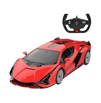 Masina cu telecomanda Lamborghini Sian, rosu, scara 1 la 14