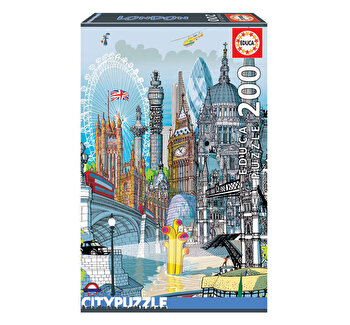 Puzzle London, Citypuzzles, 200 piese