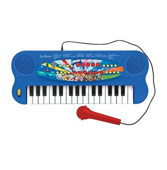 Orga electronica Paw Patrol, 32 clape, sunete incorporate si microfon