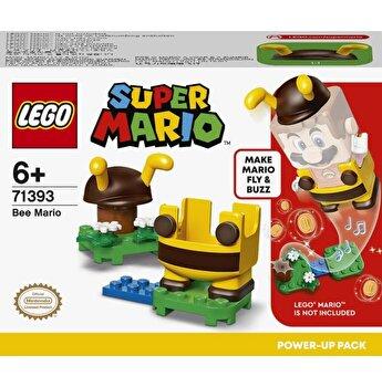 LEGO Super Mario - Pachet de puteri suplimentare Mario Albina 71393