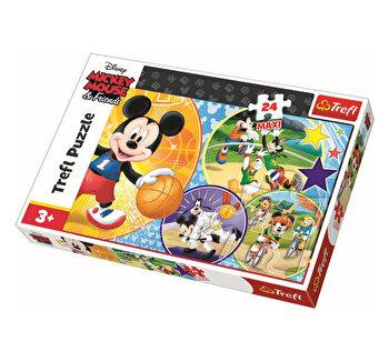 Puzzle Trefl Maxi este timpul pentru sport, 24 piese
