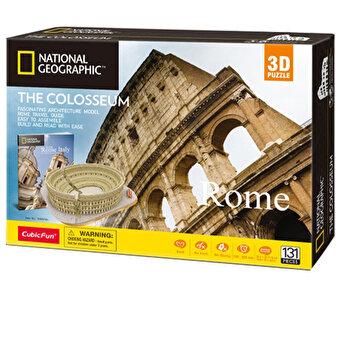 Puzzle 3D + Brosura Colosseum, 131 piese
