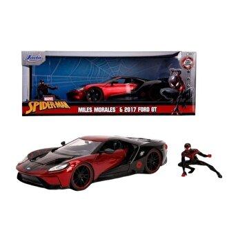 Macheta metalica Spider-Man 2017 Ford GT Miles Morales