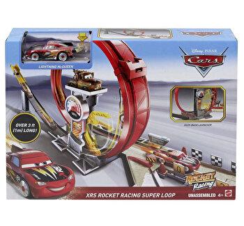 Set de joaca Cars XRS - Mega bucla masinilor racheta