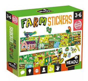 Puzzle Headu - Ferma Cu Stickere