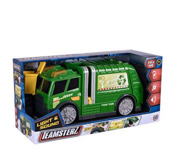 Camionul de reciclare cu sunete si lumini - Teamsterz
