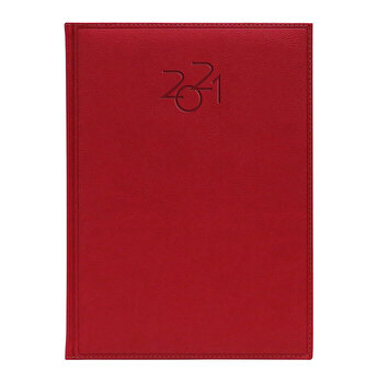 Agenda Dakota, datata A4, coperta rosu