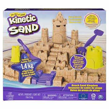 Nisip kinetic - Catelul de nisip