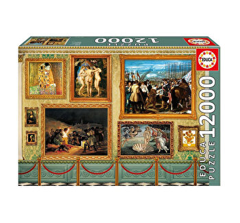 Puzzle Great Works of Art, 12000 piese