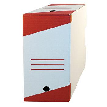 Cutie de arhivare, 330x255x160 mm, 10 buc., alb