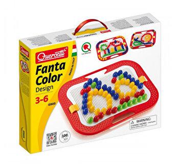 Set Quercetti - Fantacolor Design D20, 100 piese