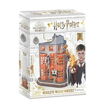 Puzzle 3D - Harry Potter - Magazin Weasleys', 62 piese