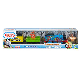 Thomas - Locomotiva motorizata safari, Monkey Thomas