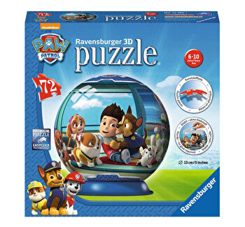 Puzzle 3D - Paw Patrol, 72 piese