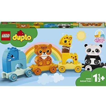 LEGO DUPLO - Primul meu tren cu animale 10955
