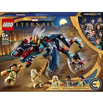 LEGO Marvel - Ambuscada Deviantului! 76154