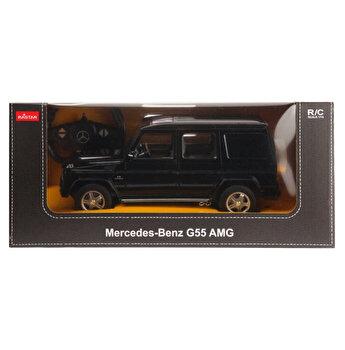 Masina cu telecomanda Mercedes Benz G55, negru, scara 1 la 14
