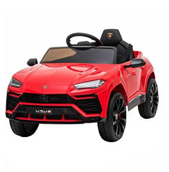 Masinuta electrica Lamborghini cu telecomanda, rosu