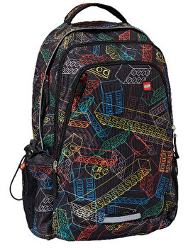 Rucsac Zero, LEGO Core Line - design multicolor