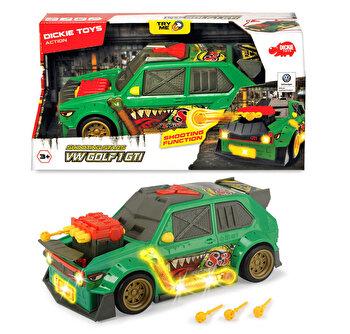 Masina Dickie Toys - Volkswagen Golf 1 GTI, cu lansator