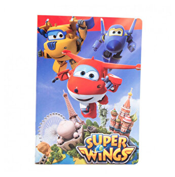 Caiet foaie velina Super Wings poza