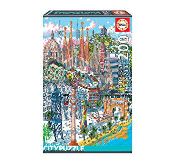 Puzzle Barcelona, Citypuzzles, 200 piese
