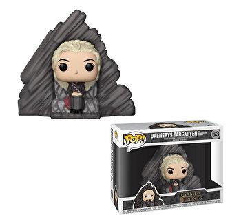 Figurina Funko Pop Games of Thrones, Daenerys pe Dragonstone Tron