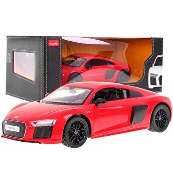Masina cu telecomanda Audi R8, rosu, scara 1 la 14