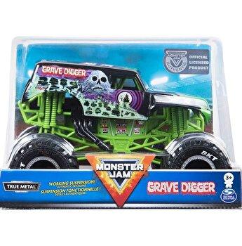 Monster Jam, macheta metalica scara 1 la 24 Grave Digger