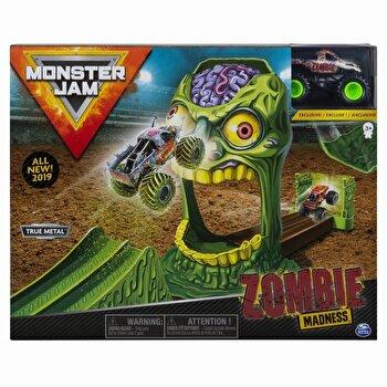 Set de joaca Monster Jam - Cascadorii doboara zombie