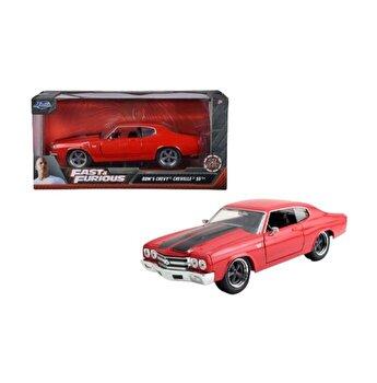 Masinuta Fast and Furios 1970 Chevy Chevelle SS, scara 1 la 24