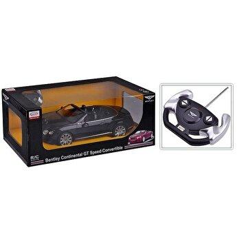 Masina cu telecomanda Bentley Continental GT, negru, scara 1 la 12