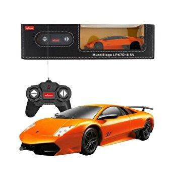 Masina cu telecomanda Lamborghini Murcielago lp670, portocaliu, scara 1 la 24