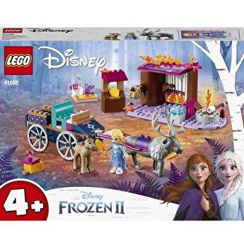 LEGO Disney Frozen II, Aventura Elsei cu trasura 41166