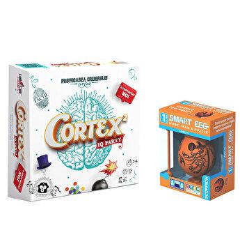 Pachet joc Cortex 2 RO + Smart Egg Scorpion